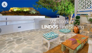 Responsive website for Lindos Fine Staying Hotel in Rhodes