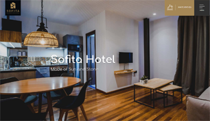 Responsive website for Sofita Hotel in Preveza