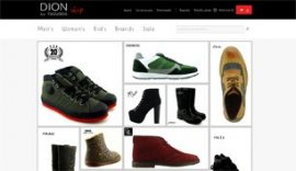 Eshop for Dion by Tsoubos shop in Ioannina, Epirus