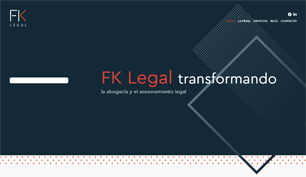 Responsive website for FK Legal