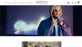 Responsive Eshop for Optikon.gr in Ioannina