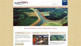 Website for Tsiligiannis HO.RE.CA. Equipment Services in Ioannina